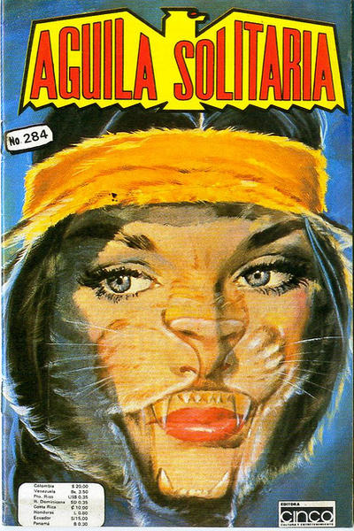 Cover for Aguila Solitaria (Editora Cinco, 1976 ? series) #284