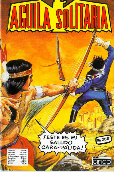 Cover for Aguila Solitaria (Editora Cinco, 1976 ? series) #286