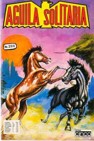 Cover for Aguila Solitaria (Editora Cinco, 1976 ? series) #288