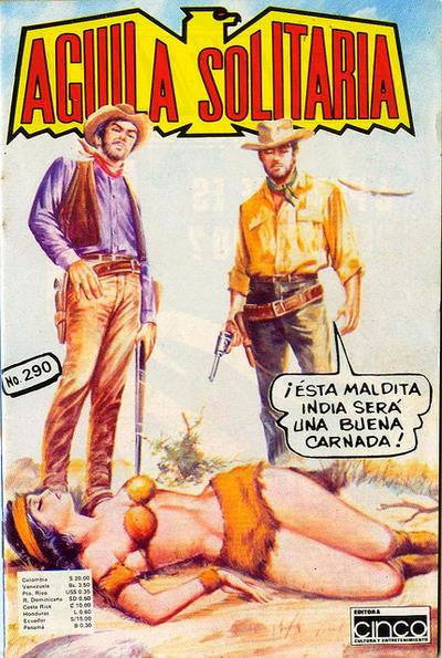 Cover for Aguila Solitaria (Editora Cinco, 1976 ? series) #290