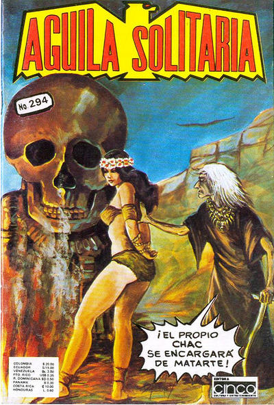 Cover for Aguila Solitaria (Editora Cinco, 1976 ? series) #294