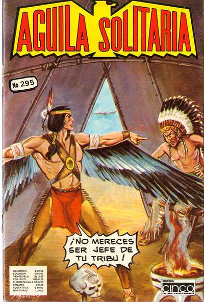 Cover for Aguila Solitaria (Editora Cinco, 1976 ? series) #295