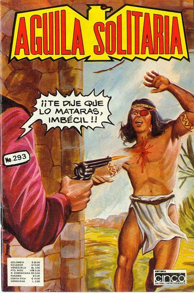 Cover for Aguila Solitaria (Editora Cinco, 1976 ? series) #293
