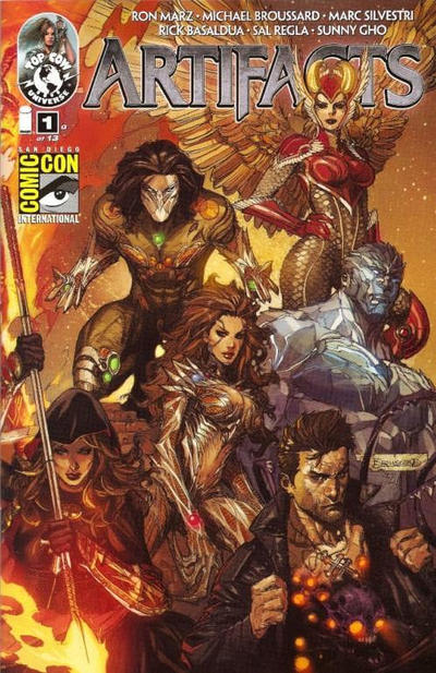 Cover for Artifacts (Image, 2010 series) #1 [Cover L]