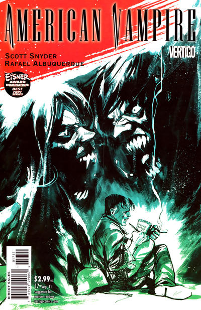 Cover for American Vampire (DC, 2010 series) #17