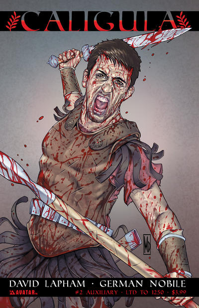 Cover for Caligula (Avatar Press, 2011 series) #2 [Auxiliary]