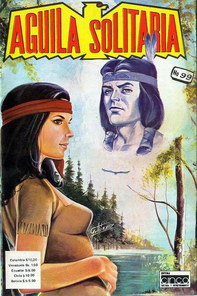 Cover for Aguila Solitaria (Editora Cinco, 1976 ? series) #99