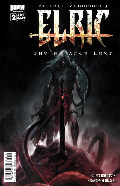 Cover for Elric: The Balance Lost (Boom! Studios, 2011 series) #2 [Cover B]
