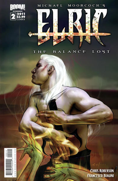 Cover for Elric: The Balance Lost (Boom! Studios, 2011 series) #2 [Cover C]