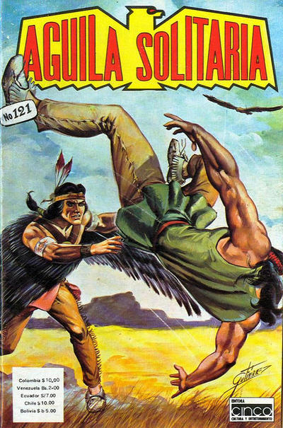 Cover for Aguila Solitaria (Editora Cinco, 1976 ? series) #121