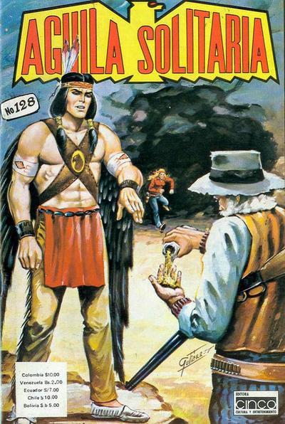 Cover for Aguila Solitaria (Editora Cinco, 1976 ? series) #128