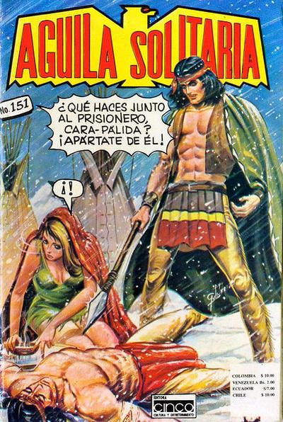 Cover for Aguila Solitaria (Editora Cinco, 1976 ? series) #151