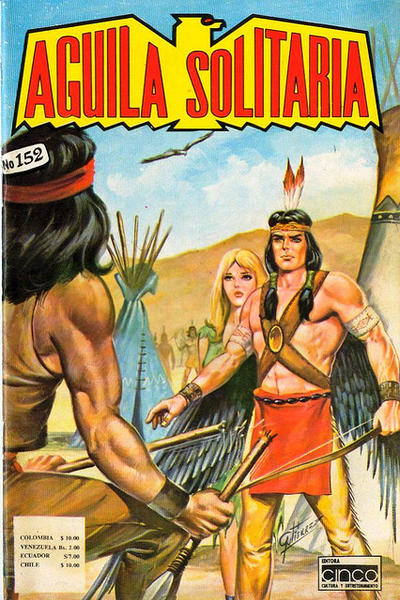 Cover for Aguila Solitaria (Editora Cinco, 1976 ? series) #152