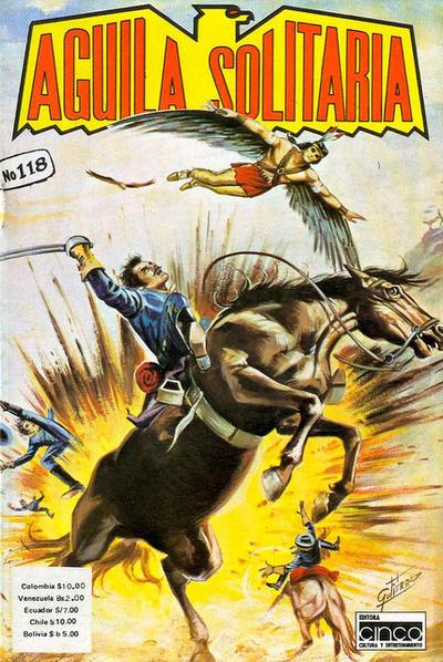 Cover for Aguila Solitaria (Editora Cinco, 1976 ? series) #118