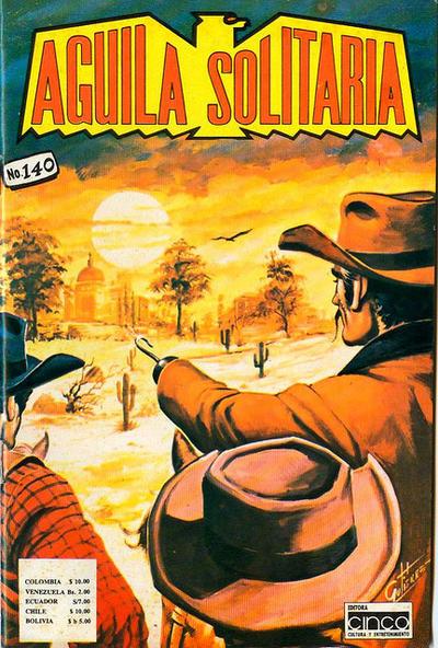 Cover for Aguila Solitaria (Editora Cinco, 1976 ? series) #140