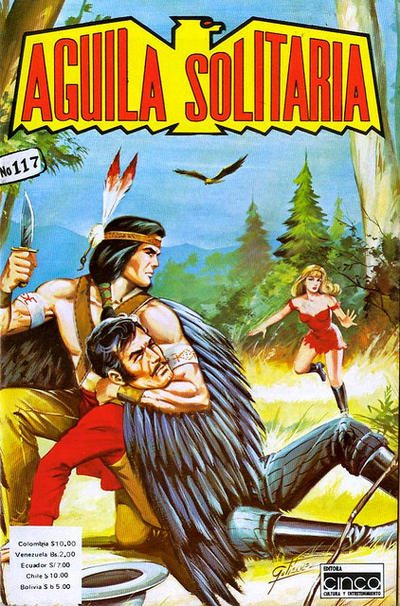Cover for Aguila Solitaria (Editora Cinco, 1976 ? series) #117