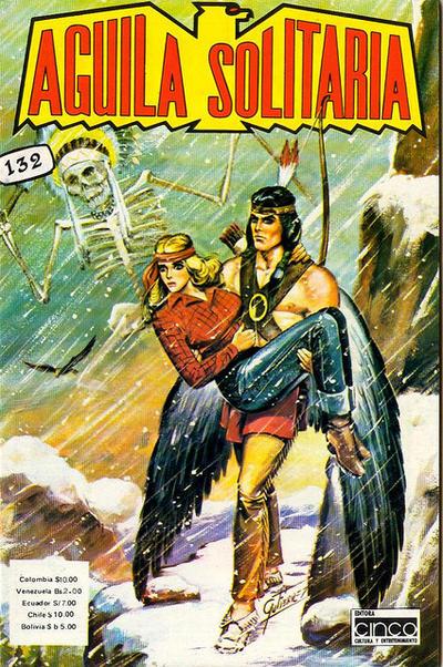 Cover for Aguila Solitaria (Editora Cinco, 1976 ? series) #132