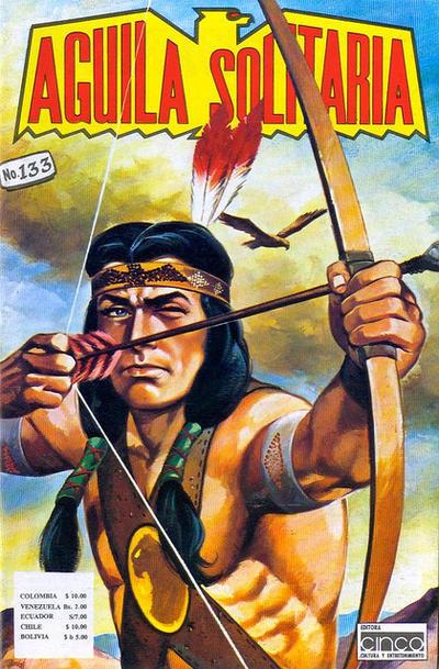 Cover for Aguila Solitaria (Editora Cinco, 1976 ? series) #133
