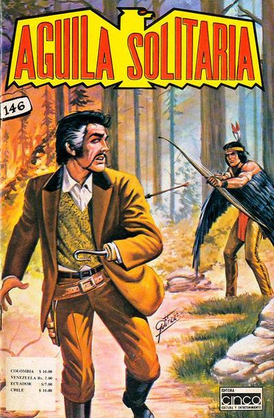 Cover for Aguila Solitaria (Editora Cinco, 1976 ? series) #146