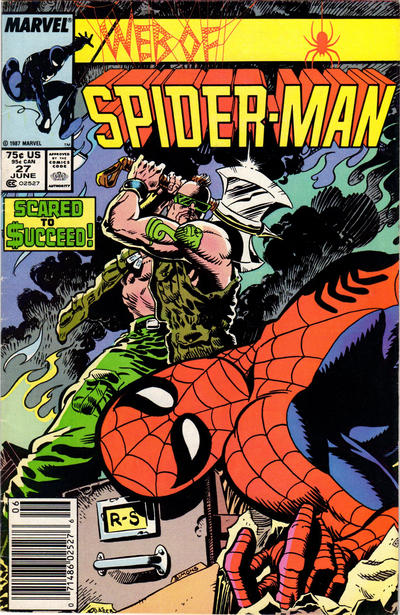 Cover for Web of Spider-Man (Marvel, 1985 series) #27 [Direct]