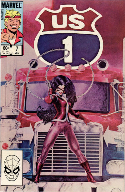 Cover for U.S. 1 (Marvel, 1983 series) #7