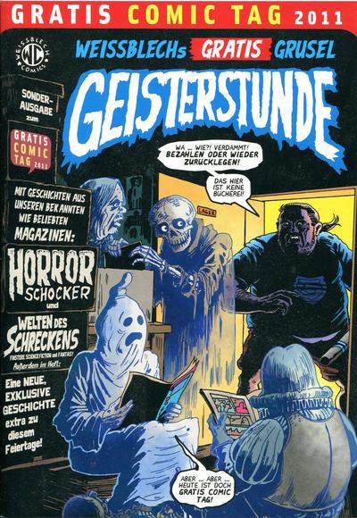 Cover for Weissblechs Gratis Grusel Geisterstunde (Weissblech Comics, 2011 series)