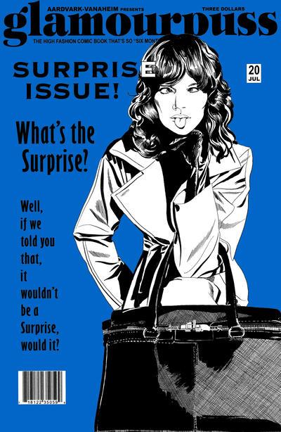 Cover for glamourpuss (Aardvark-Vanaheim, 2008 series) #20