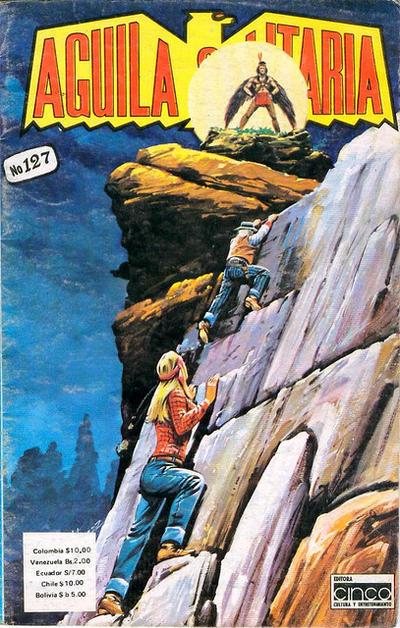 Cover for Aguila Solitaria (Editora Cinco, 1976 ? series) #127