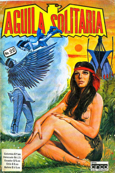 Cover for Aguila Solitaria (Editora Cinco, 1976 ? series) #22