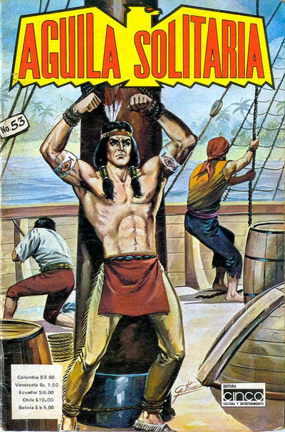 Cover for Aguila Solitaria (Editora Cinco, 1976 ? series) #53