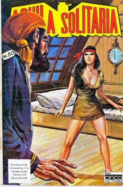 Cover for Aguila Solitaria (Editora Cinco, 1976 ? series) #50