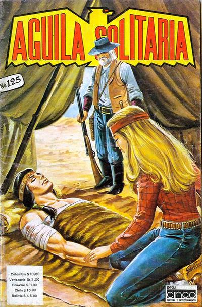 Cover for Aguila Solitaria (Editora Cinco, 1976 ? series) #125