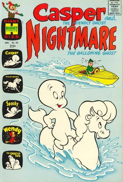 Cover for Casper & Nightmare (Harvey, 1964 series) #22