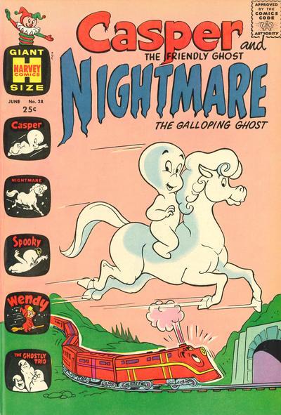 Cover for Casper & Nightmare (Harvey, 1964 series) #28