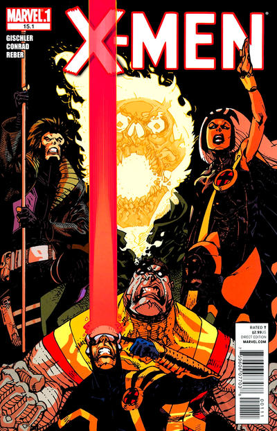 Cover for X-Men (Marvel, 2010 series) #15.1
