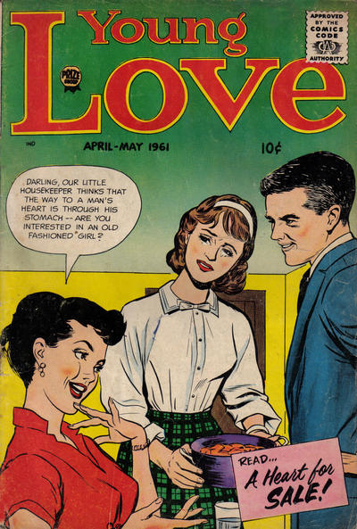 Cover for Young Love (Prize, 1960 series) #v4#6 [25]