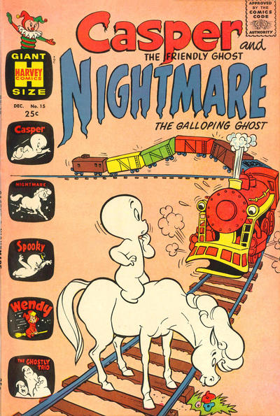 Cover for Casper & Nightmare (Harvey, 1964 series) #15
