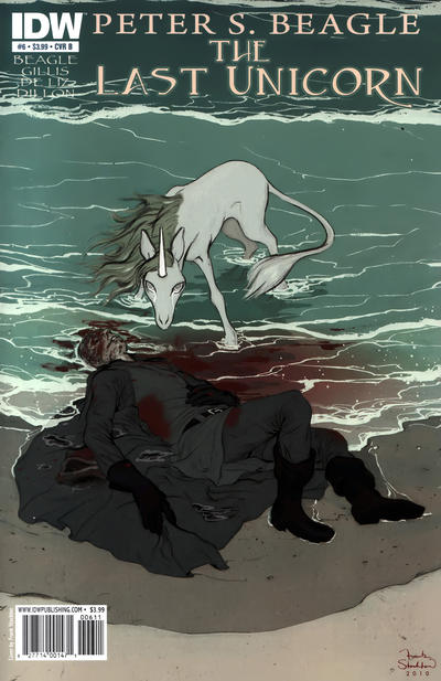 Cover for The Last Unicorn (IDW, 2010 series) #6 [Cover A]