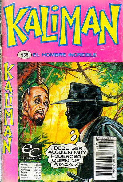 Cover for Kaliman (Editora Cinco, 1976 series) #958
