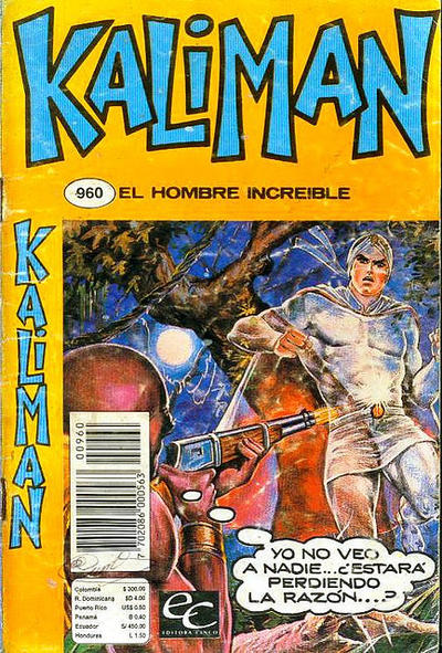 Cover for Kaliman (Editora Cinco, 1976 series) #960