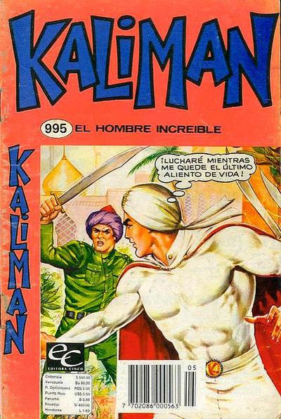 Cover for Kaliman (Editora Cinco, 1976 series) #995