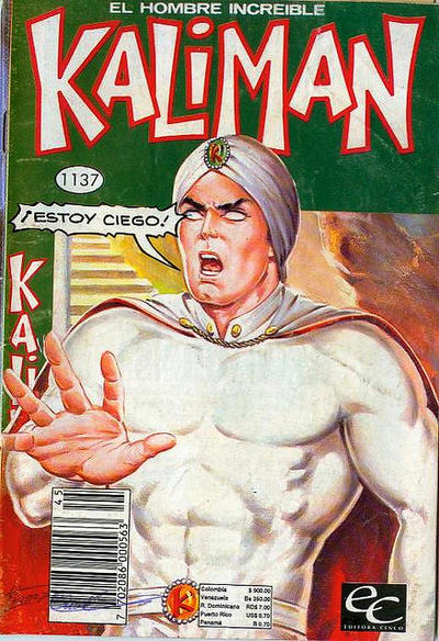 Cover for Kaliman (Editora Cinco, 1976 series) #1137