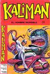 Cover for Kaliman (Editora Cinco, 1976 series) #51