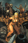 Cover for Jungle Girl (Dynamite Entertainment, 2007 series) #3 [Virgin Variant]