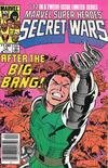 Cover for Marvel Super-Heroes Secret Wars (Marvel, 1984 series) #12 [Newsstand]