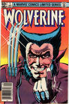 Cover Thumbnail for Wolverine (1982 series) #1 [Newsstand]