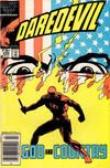 Cover for Daredevil (Marvel, 1964 series) #232 [Newsstand]