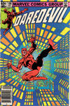 Cover Thumbnail for Daredevil (1964 series) #186 [Newsstand Edition]