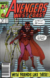 Cover Thumbnail for West Coast Avengers (1985 series) #47 [Newsstand Edition]