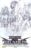 Cover for Bring the Thunder (Dynamite Entertainment, 2010 series) #1 [B&W RI]